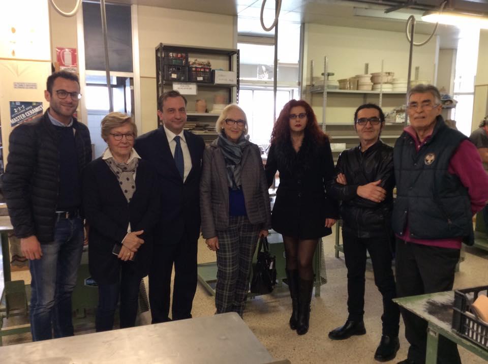 Missione in Romania per la Scuola di Ceramica