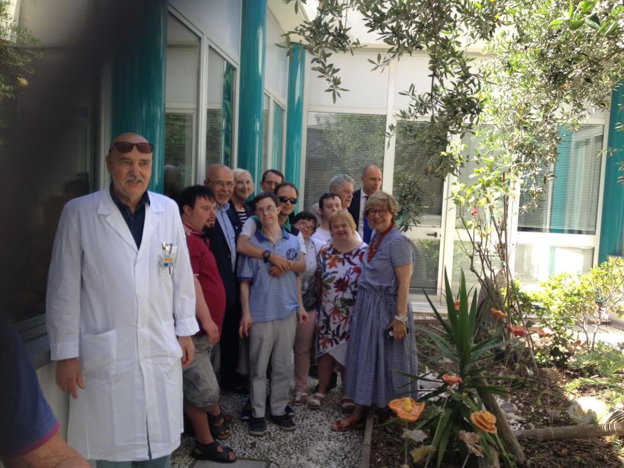 'Fiori' Adso per il giardino dell'ospedale